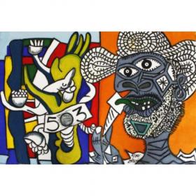 hommage-à-picasso-et-fernand-léger-erro-image-principale-comœdia-brest-exposition-vente-galerie-finistère-bretagne