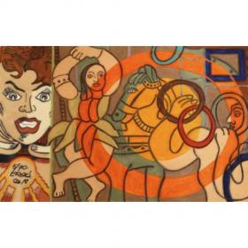 le-cirque-erro-image-principale-comœdia-brest-exposition-vente-galerie-finistère-bretagne