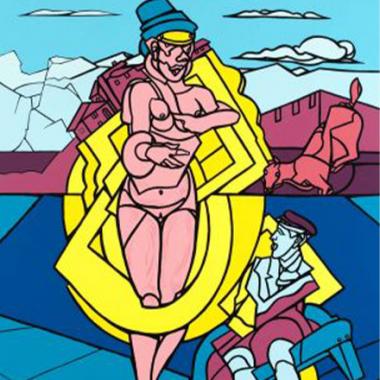 Valerio Adami, peintre de la Nouvelle Figuration