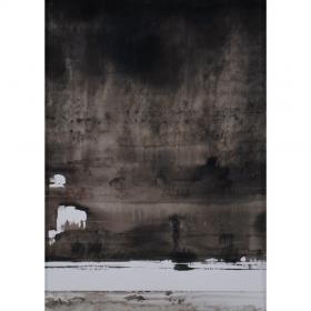 mondes-engloutis-1-Catherine-Aerts-Wattiez-peinture-comœdia-brest-exposition-vente-galerie-finistère-bretagne