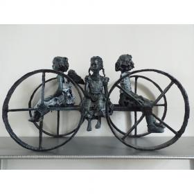 chariot-martine-kerbaol-image-principale-comœdia-brest-exposition-vente-galerie-finistère-bretagne