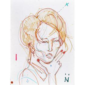 Peinture Neila Serrano Femme
