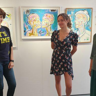 A écouter : Feminae, visite de l'exposition avec les artistes Nansky, Neila Serrano et Florence Lemiegre