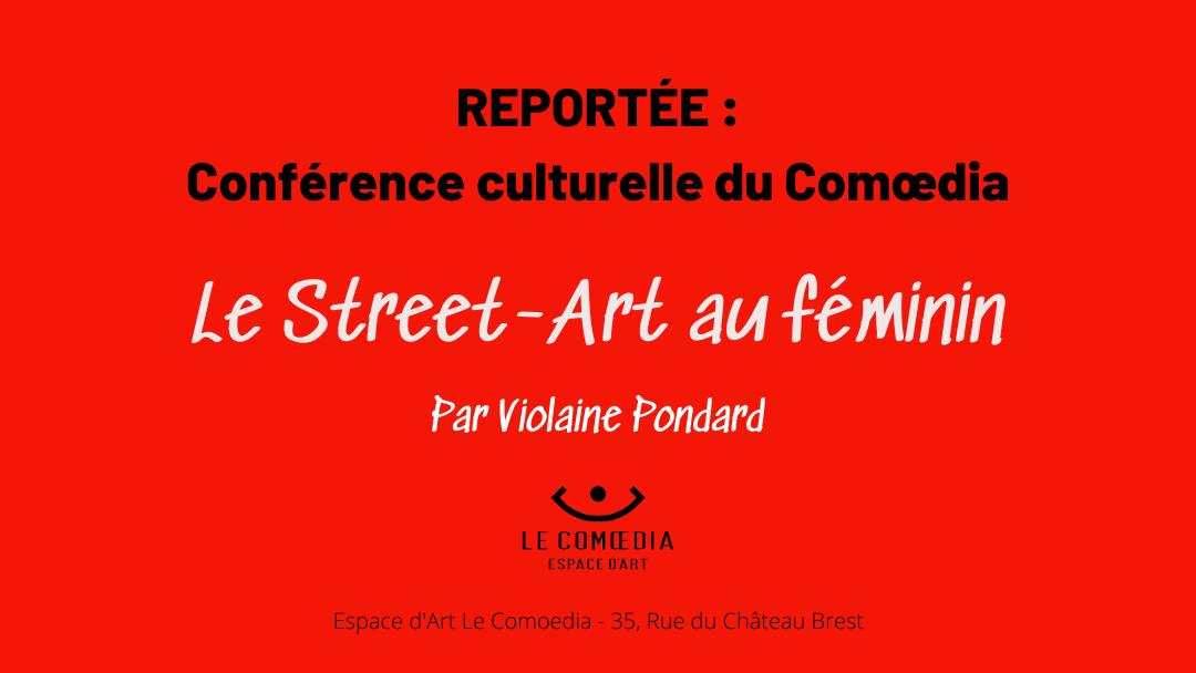 Affiche annonce - Comoedia - conférence culturelle