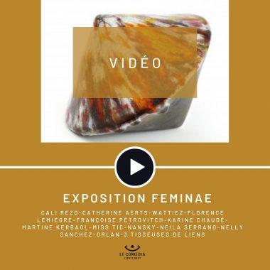 Vidéo : l'exposition Feminae à l'Espace d'Art Le Comœdia à Brest