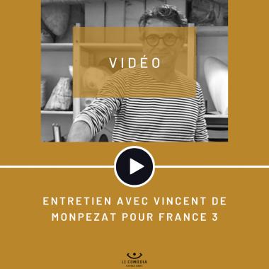 Entretien avec Vincent de Monpezat pour France 3