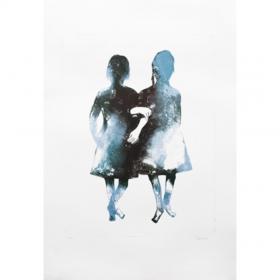 le-comoedia-espace-art-galerie-online-exposition-vente-art-contemporain-femme-woman-francoise-petrovitch-twins-peinture-sculpture-brest-finistere-bretagne