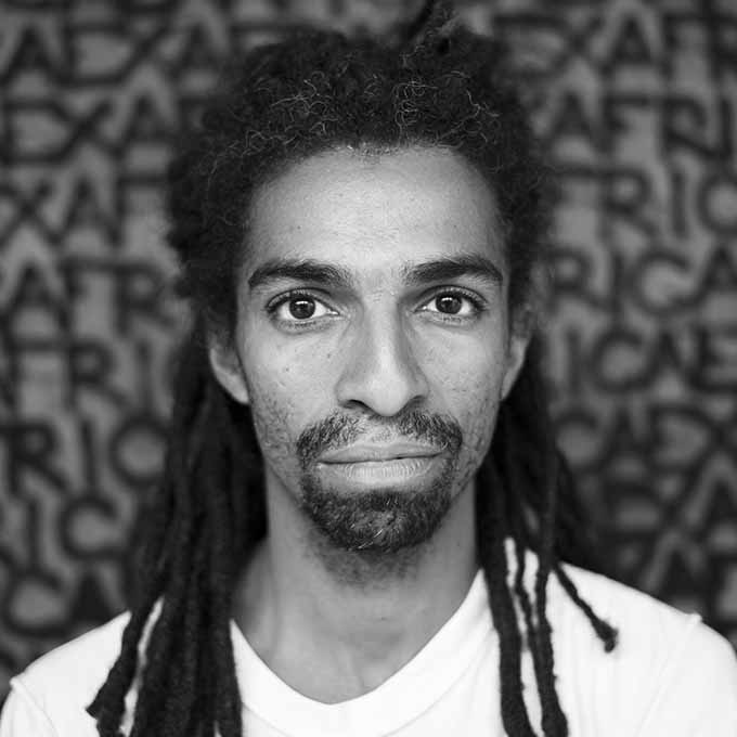 Photo - Portrait - Noir et blanc - Kouka Ntadi