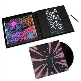 Coffret - Fragments - Fred Ebami - Livre - Vinyl - Coloré