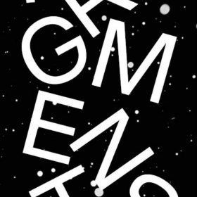 Affiche - Fragments - Fred Ebami - Fond noir avec étoiles blanches