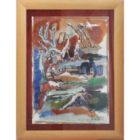 Peinture - Loïc Madec - Nature morte revisité - Afrique