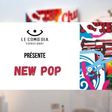 Vidéo : la galerie Le Comœdia présente New Pop