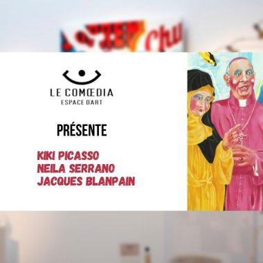 Vidéo : plongez dans l'univers de Kiki Picasso, Neila Serrano et Jacques Blanpain pour l'exposition New Pop
